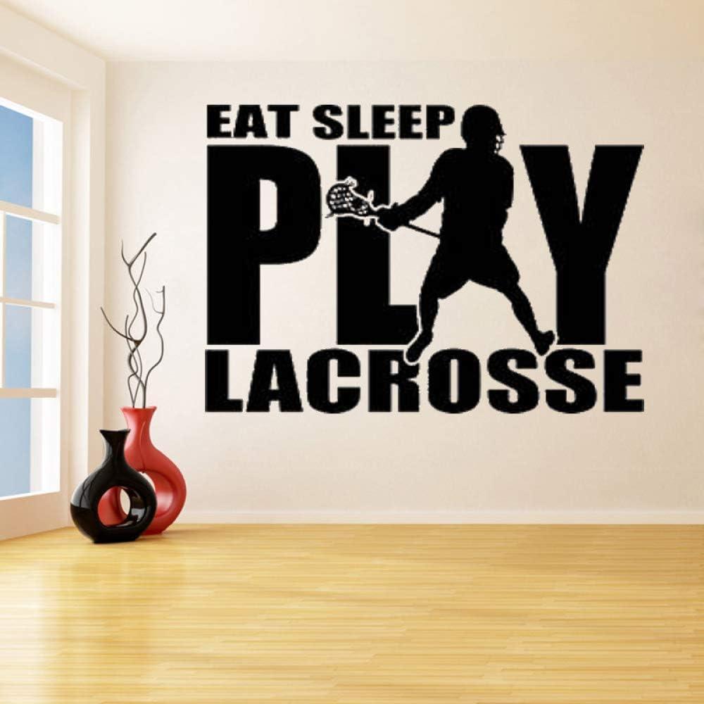 Juegue a Lacrosse con el Jugador Pegatinas de Pared Desmontables ...