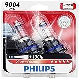 Philips 9004 X-tremeVision Upgrade Headlight Bulb, 2 Pack