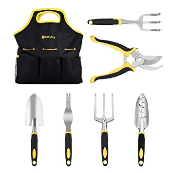 SET 7 en 1 Herramientas de Jardinería CookJoy Kit de Jardineria con asas  ergonómicas 9c56c3ef2624