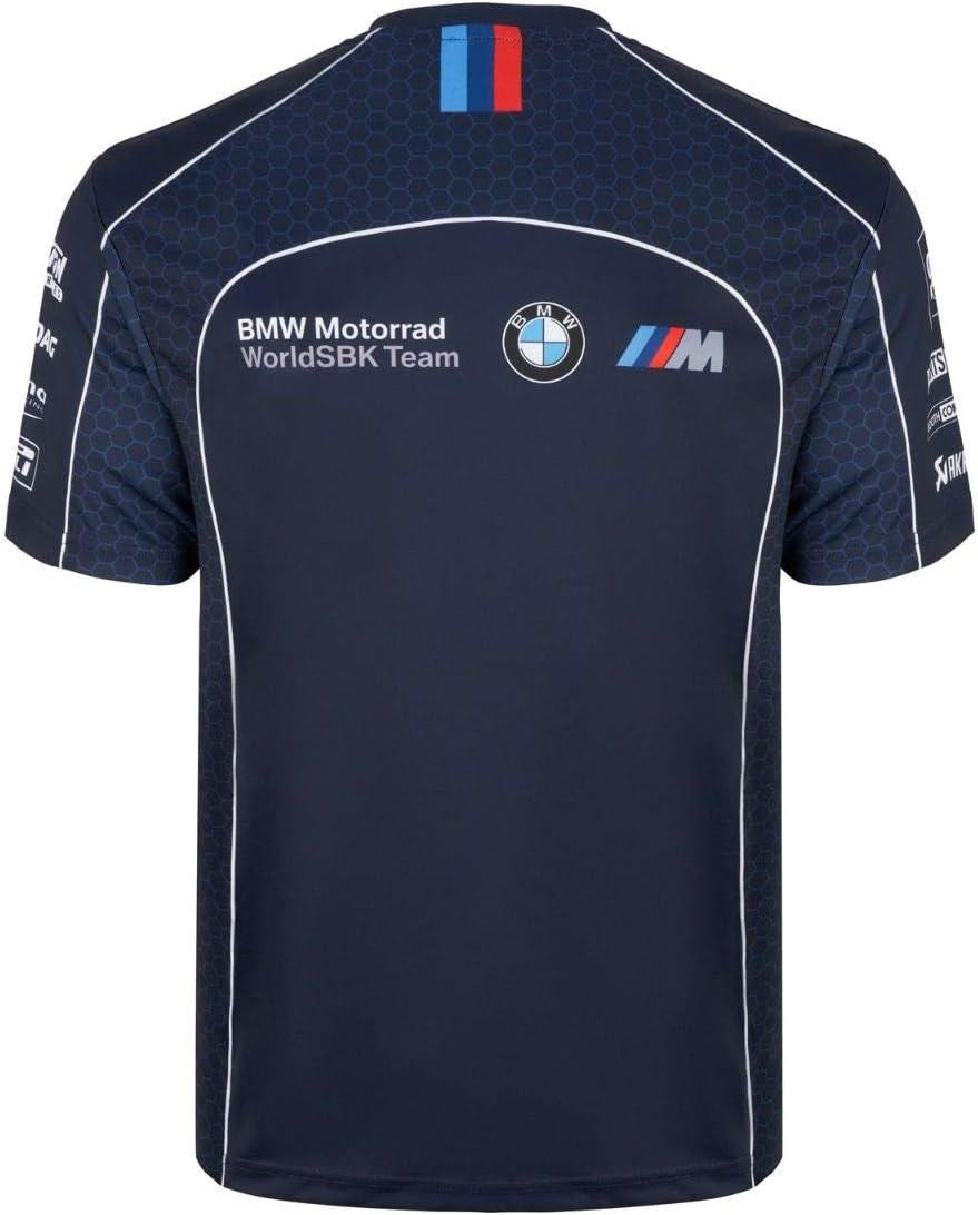 BMW Motorrad World Superbike SMR T-shirt imprim/é bleu