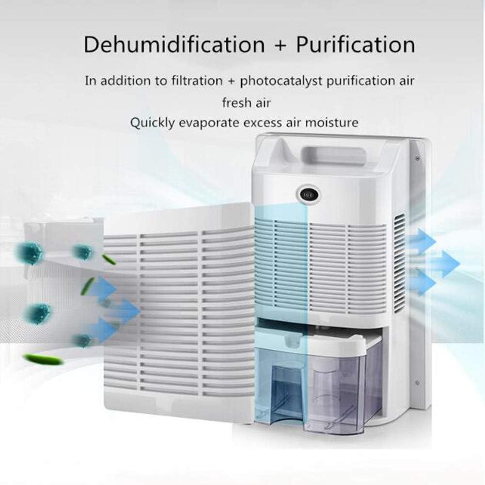 FASSTUREF Deshumidificador Diseño silencioso Deshumidificación eficiente Secador purificador de Aire con Ahorro de energía para Dormitorio/Sala de Estar/Cocina/guardarropa/baño: Amazon.es: Hogar