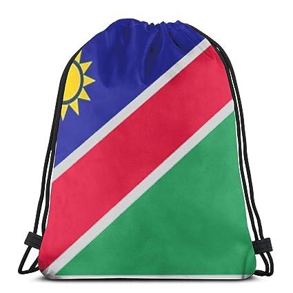 Namibia - Bandera de Sol con cordón de Mochila y Cadena de ...