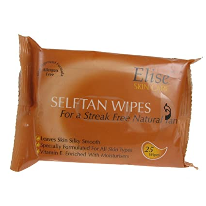 Elise Self Tan toallitas x25pcs