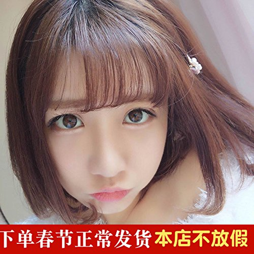 Amazon.com   Air wig bangs wig piece women girls female invisible bangs  hair piece Seamless natural Slim false bangs sea Qi stay   Beauty 27326c21a535