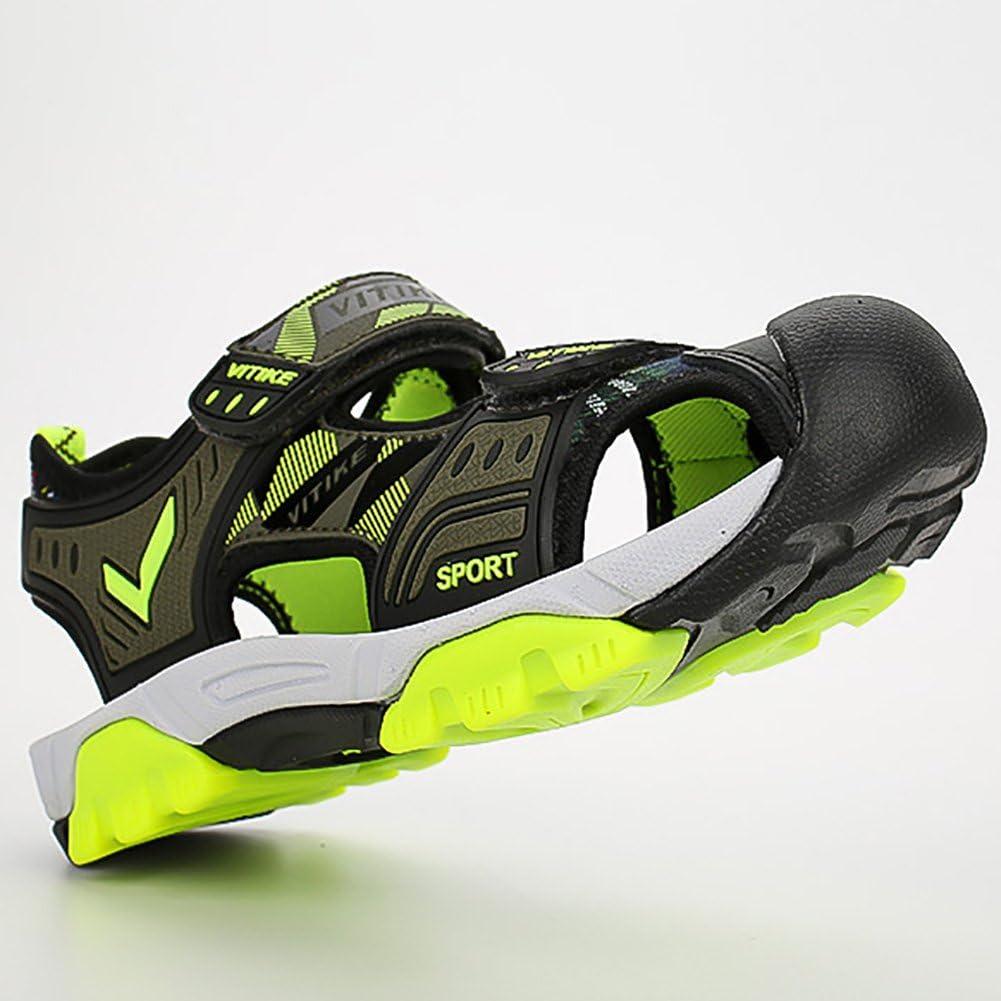 Sandalen Kinder Jungen M/ädchen Outdoor Sports Trekkingsandalen Atmungsaktiv und schnell trocknend