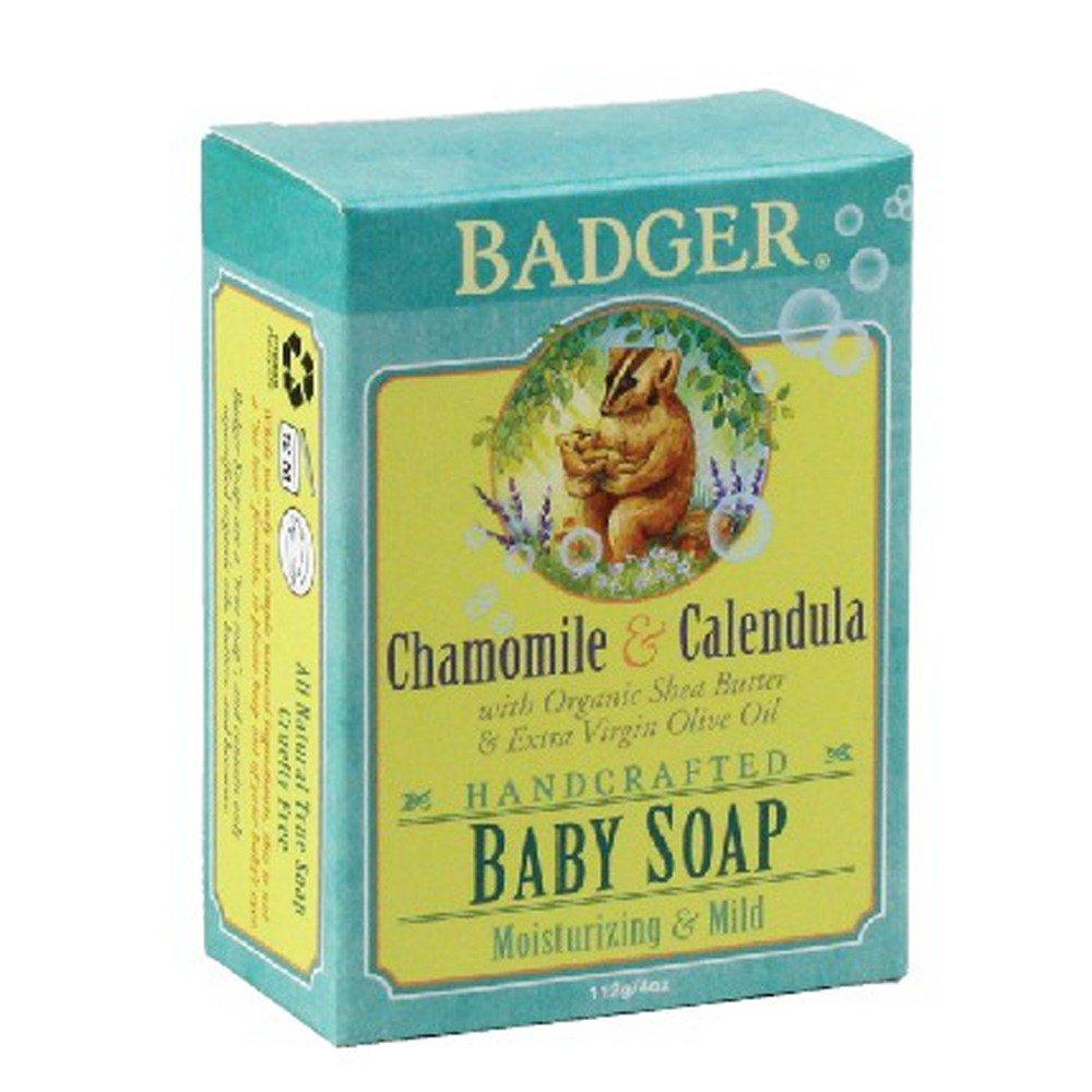 Chamomile & Calendula Baby - 4 oz - Bar Badger 634084350289