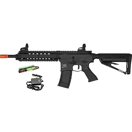 Amazon.com : Valken ASL MOD-M AEG M4 Airsoft Rifle - Black w ...