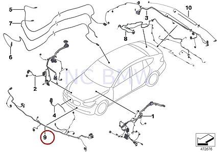 Amazon Com Bmw Genuine Front End Wiring Harness Automotive