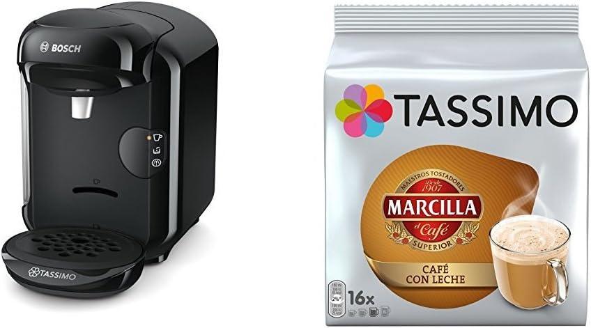 Bosch TAS1403 Tassimo Vivy 2 (color rojo) + Pack café 5 paquetes ...