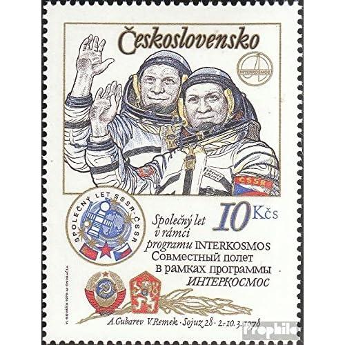 Tchécoslovaquie 2493 (complète.Edition.) 1979 cosmos (Timbres pour les collectionneurs)
