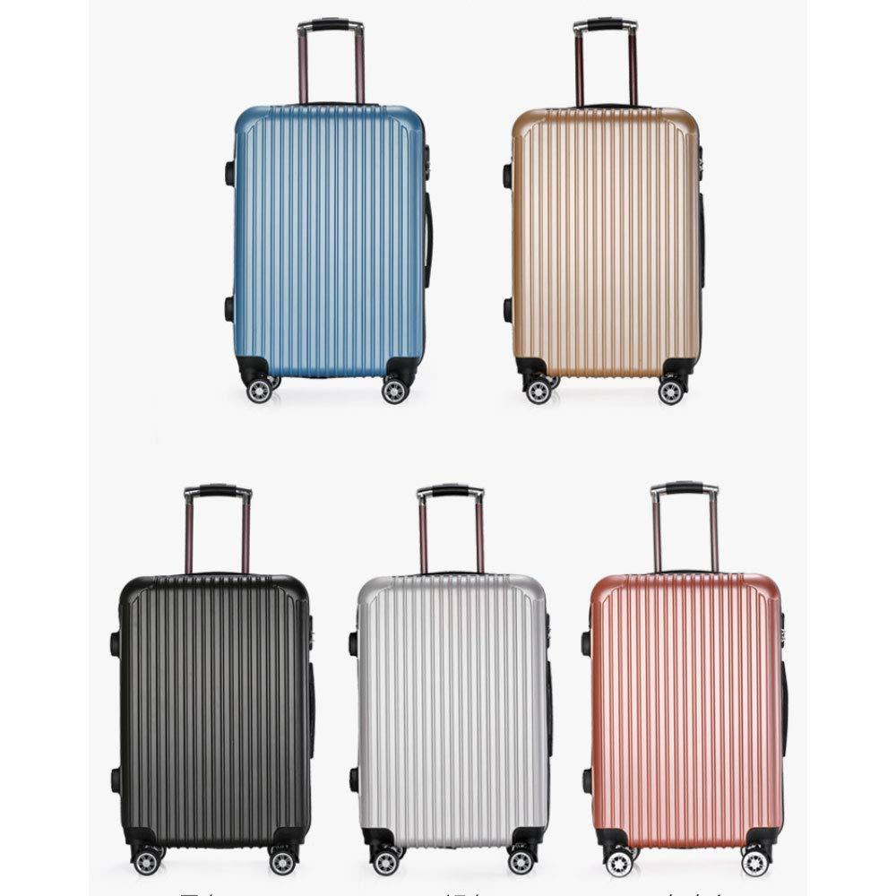 トロリーケース20インチ男性と女性のスーツケース24インチ荷物ギフトボックスユニバーサルホイールボックス (Color : シャンパンゴールド しゃんぱんご゜るど, Size : 20 inches)   B07R8X7H5X