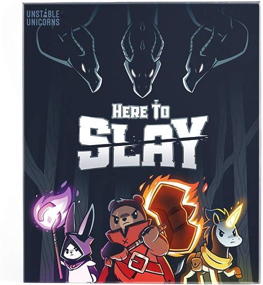 presa Here to Slay kickstarter exclusive Teeturtle makers of Unstable Unicorns