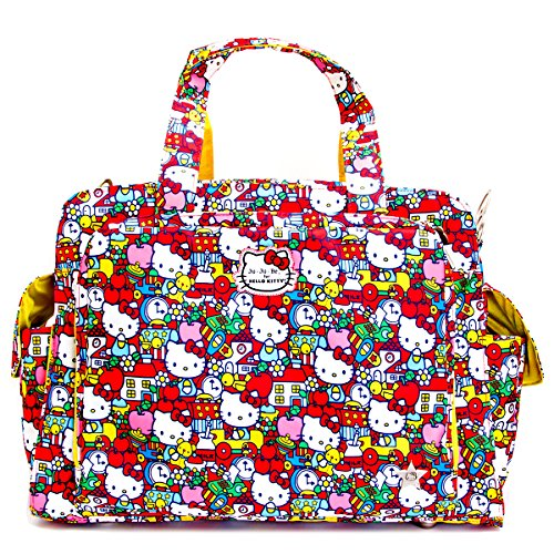 Ju-Ju-Be Hello Kitty Collection Be Prepared Diaper Bag, Tick