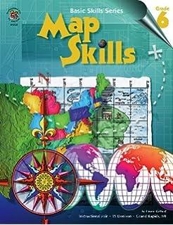 basic skills map skills grade 6