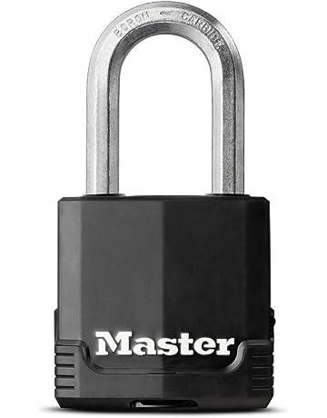 Candado resistente a la intemperie, de MasterLock.