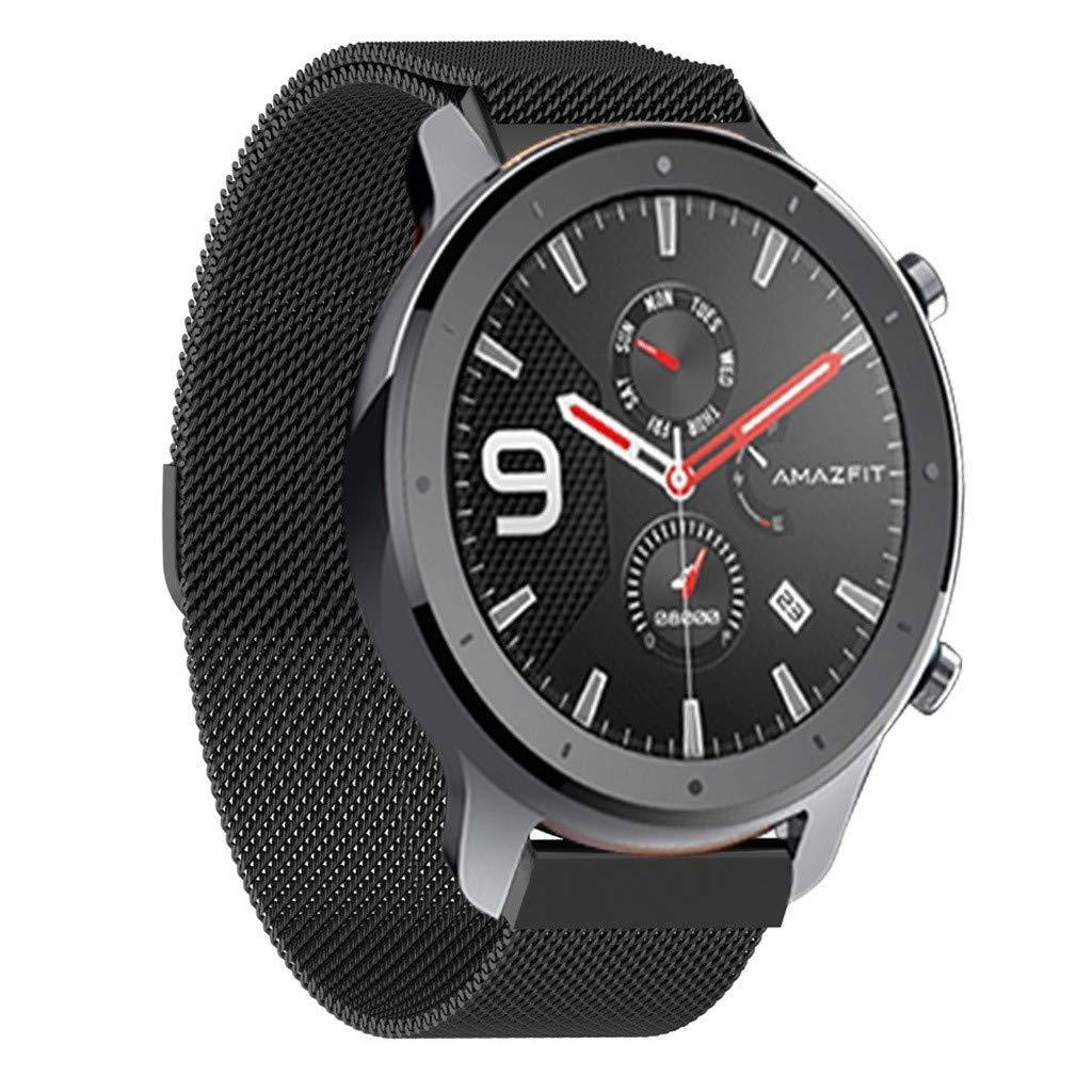 Maayun Reloj Correa Pulsera para Xiaomi AMAZFIT GTR Smart Watch 47mm Protector huami Pulsera Watch Accesorios
