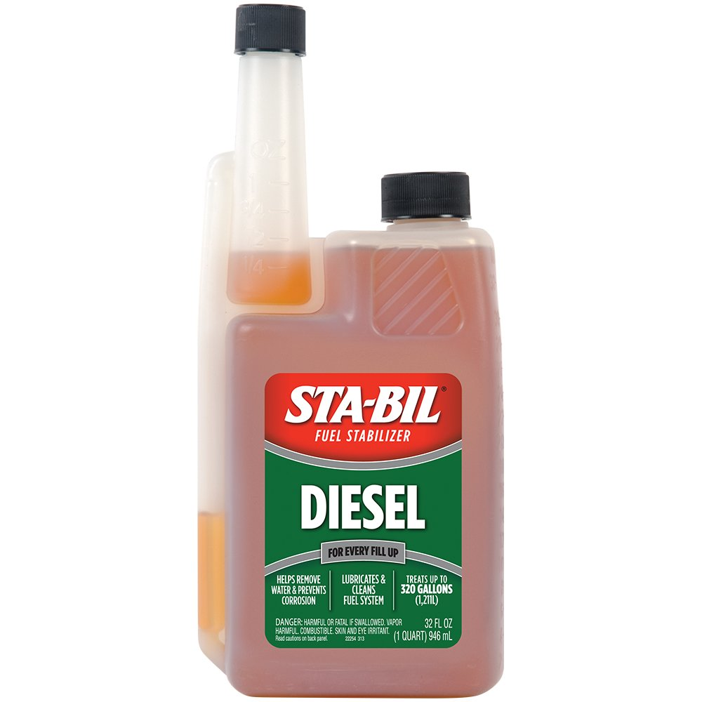 Sta-Bil 22254 Diesel Formula Fuel Stabilizer and Performance Improver - 32  oz