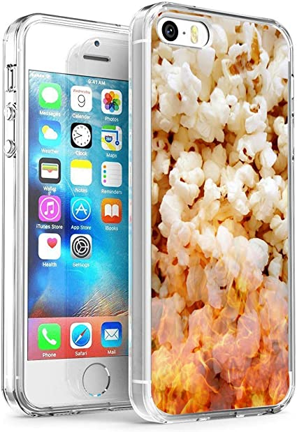iPhone SE 5s 5 Case,Popcorn Case for iPhone SE 5s 5,Puffed Rice ...
