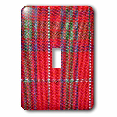 3D Rose lsp_113037_1 Traditional Red Tartan Pattern-Scott...