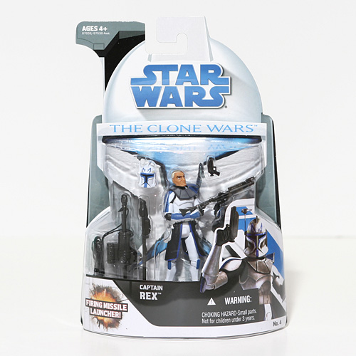 Captain Rex with Firing Missile Launcher - Star Wars: The Clone Wars -