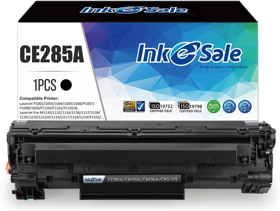 Amazon.com: INK E-SALE Compatible Toner Cartridge Replacement for HP 85A  CE285A 36A CB436A 35A CB435A Canon 125 for HP LaserJet P1102w M1212NF  M1217nfw P1505 M1522nf P1109w P1006 Canon MF3010 LBP6000 1 Pack