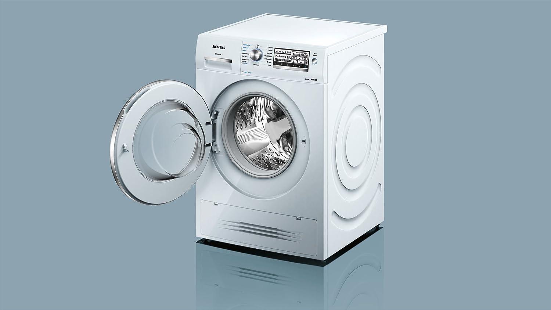 Siemens iQ700 Independiente Carga frontal A - Lavadora-secadora ...