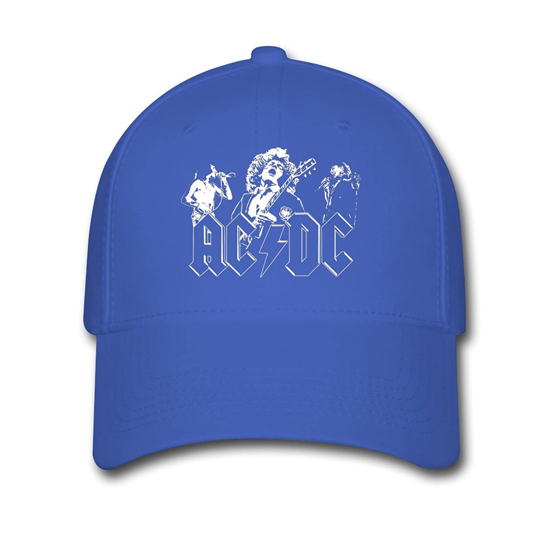 Men Women Unisex Adjustable Snapback Hats Hard Rock AC DC Tour 2016 Fan Logo Baseball Cap