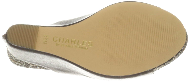 Charles by Charles David Women's Ames Wedge Sandal B01M3NOUWD 10 B(M) US|Dark Brown