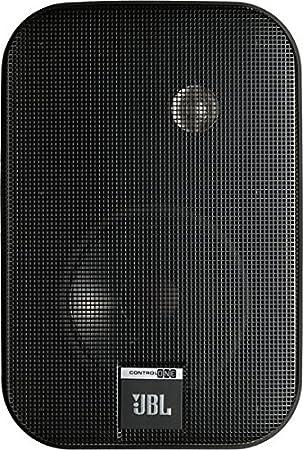 100 Fu/ß JBL Control One Robuster Kompakter Regallautsprecher Satellitenlautsprecher Studio-Monitor-Lautsprecher 1 Paar schwarz /& Basics Lautsprecherkabel 1,3 mm/² // 16 Gauge 30,48 m