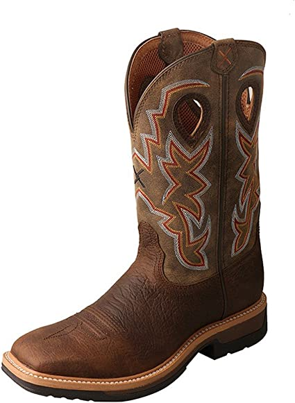 Twisted X Mens Lite Cowboy Taupe Work