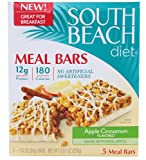 South Beach Diet Meal Bars Apple Cinnamon -- 1.76oz 5 Bars