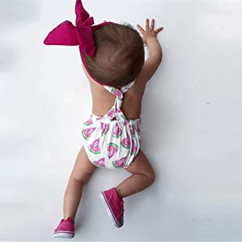 Mono para niñas, ❤️Xinantime 0~24 Meses Vestir Conjunto Set de ...