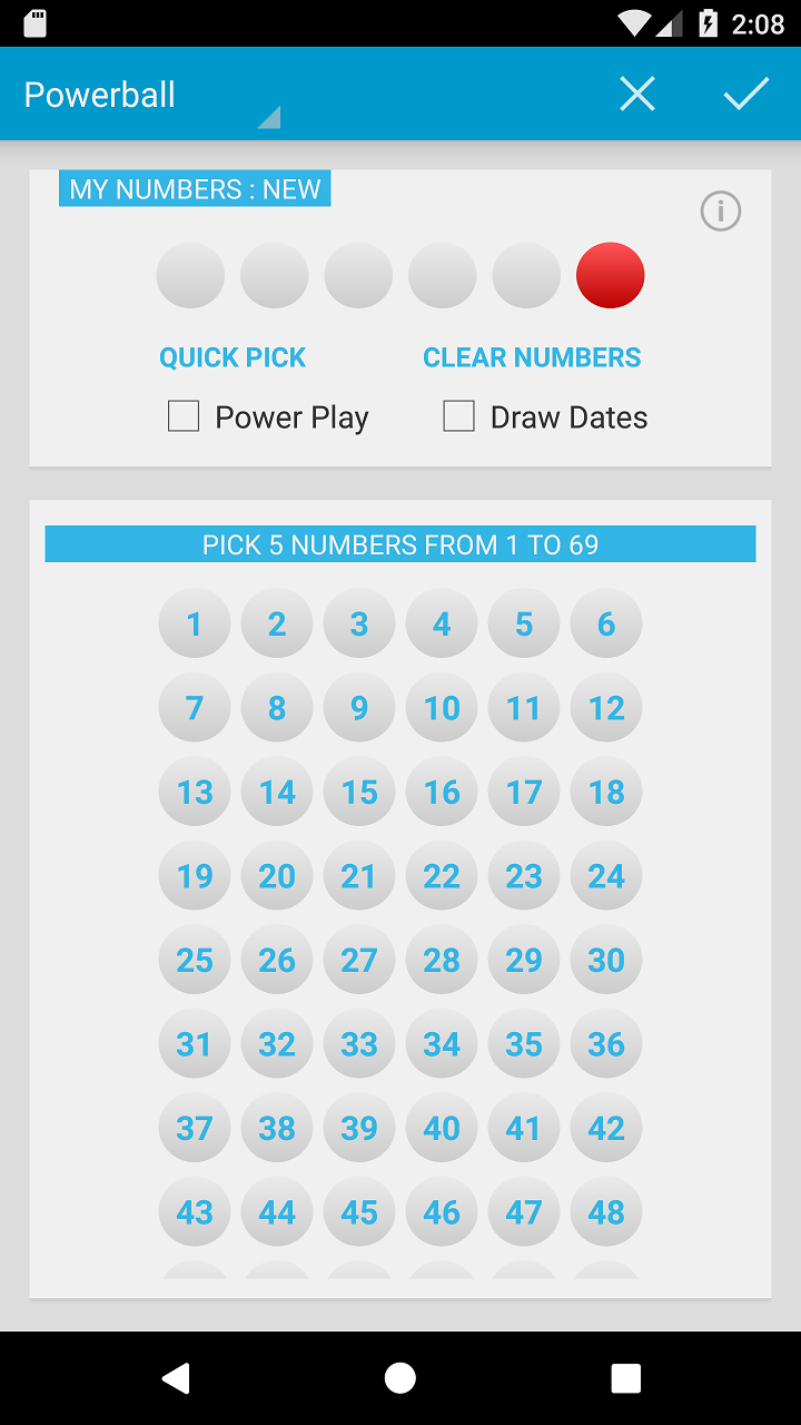 Amazon com: Mega Millions & Powerball: Appstore for Android