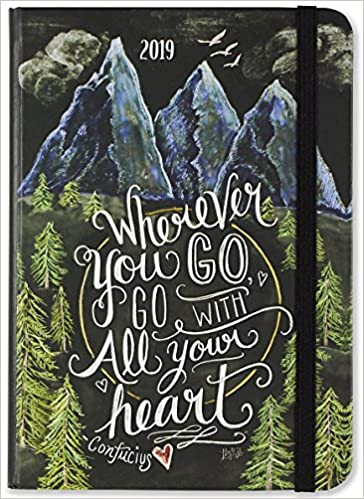 2019 wherever you go weekly planner 16 month engagement calendar