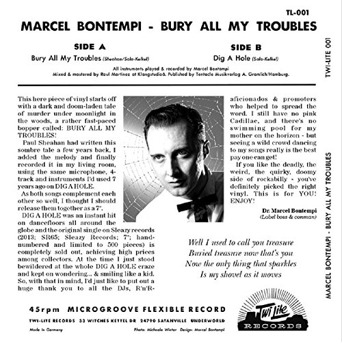 Bury All My Troubles Dig A Hole 7inch 45rpm Ps Amazoncom Music