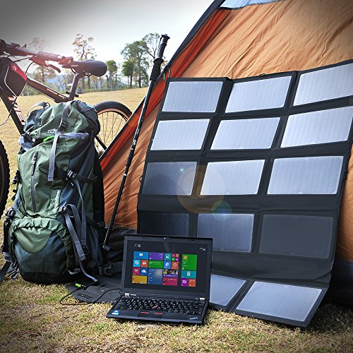 Top 10 Best Portable Solar Laptop Chargers Power Banks Reviews 2018-2019 - Magazine cover