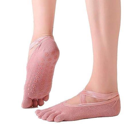 Calcetines De Yoga con Punta De Algodón para Ballet Pilates ...