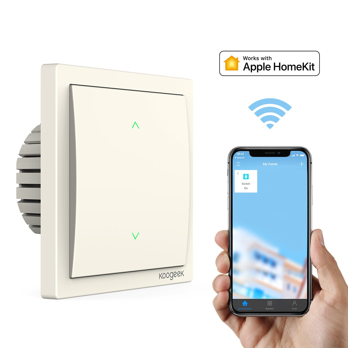 Koogeek smart switch dimmerabile