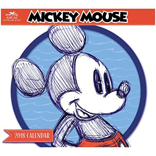 2018 Mickey Mouse Wall Calendar