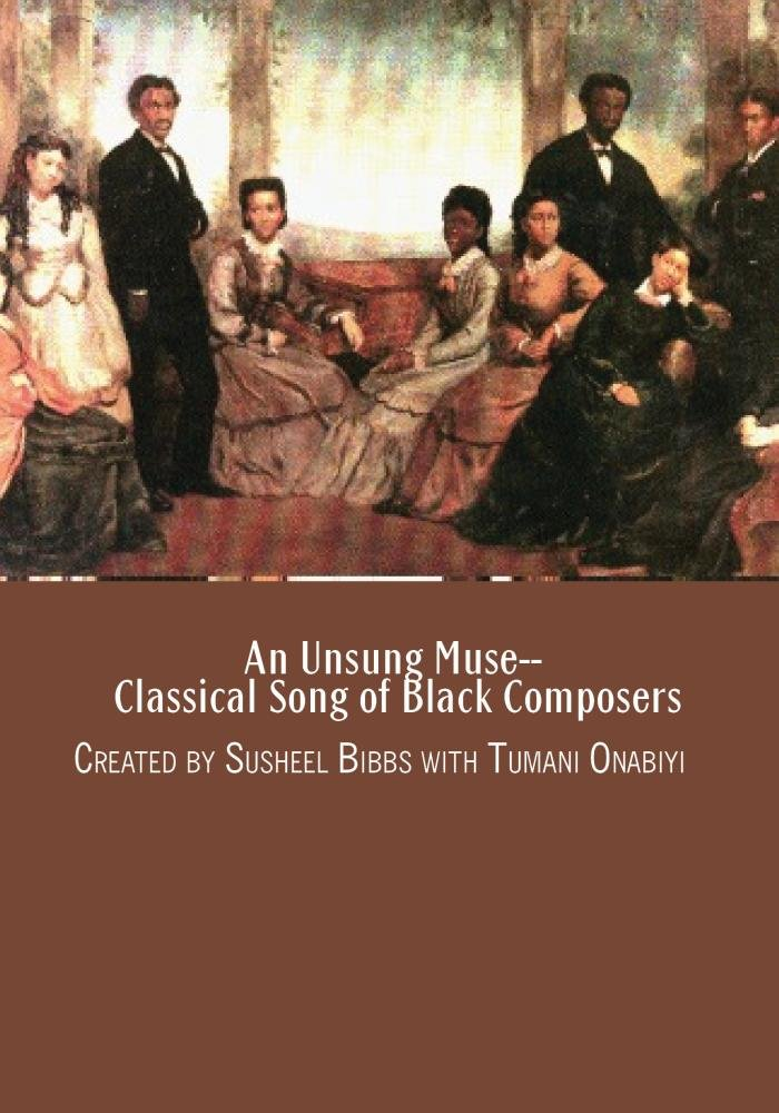 Amazon com: An Unsung Muse--Classical Song of Black