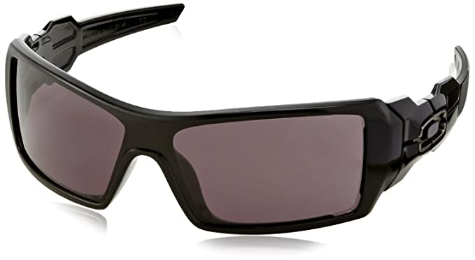 oakley oil rig sunglasses accessories  oakley oil rig sunglasses polished black with warm grey os