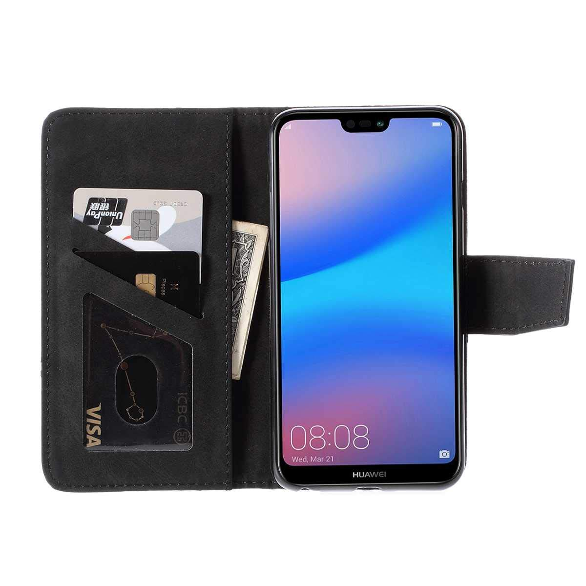 Impianti elettrici Nero DENDICO Cover Huawei P20 Lite Slim ...