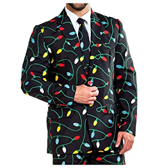 Dasongff Chaqueta de traje de Navidad para hombre, chaqueta de ...