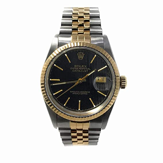 Rolex Reloj suizo de hombre Datejust automático 16013 (certificado de segunda mano)