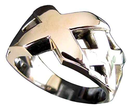 Triple X XXX en bronce de anillo (tamaño H a Z + 3): Aurum ...