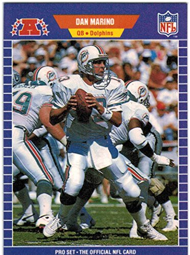 1989 Pro Set Series 1-2 & Update Miami Dolphins Team Set with Dan Marino & & Don Shula RC - 20 Cards