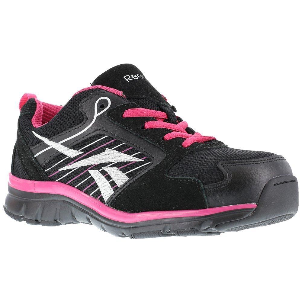 Reebok Work Women's Anomar RB454 Athletic Safety Shoe B00118W8W8 5.5 B(M) US|Black