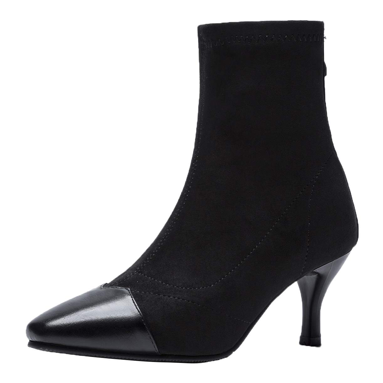 JYshoes , B018S74G7Y Montantes JYshoes Femme Femme Noir 796e226 - therethere.space