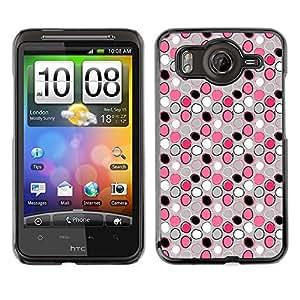 ZECASE Funda Carcasa Tapa Case Cover Para HTC Desire HD G10 No.0000225