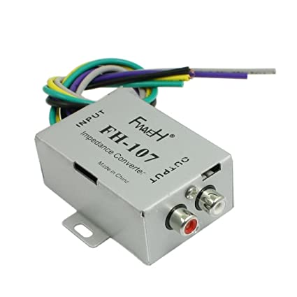 Amazon com: uxcell Speaker Line to RCA Audio Amplifier High